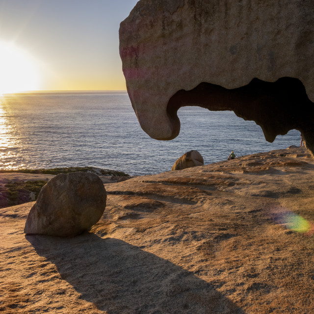 """Remarkable Rocks"" stock image"