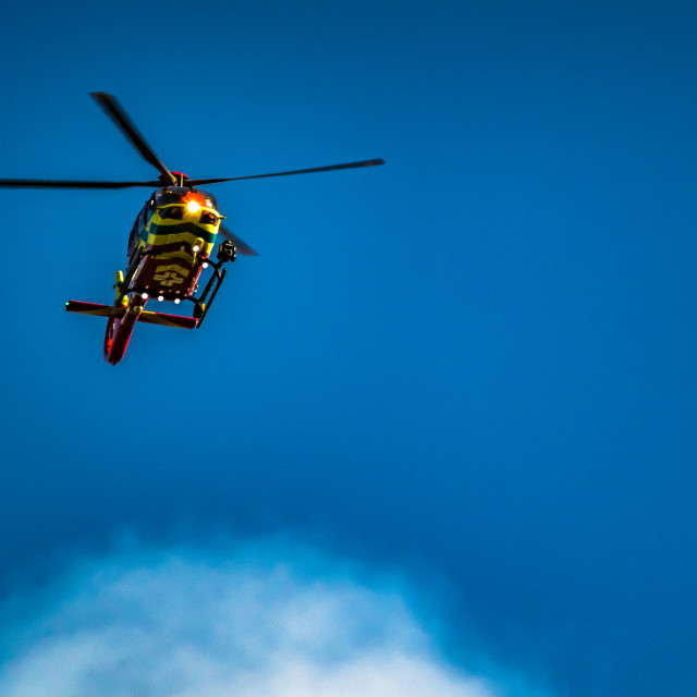 """""""South Oxfordshire Air Ambulance"""" stock image"""