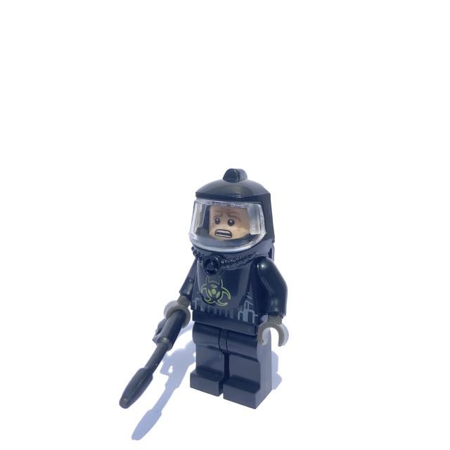 """Bio Hazard clean up crew"" stock image"