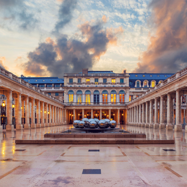 """Palais Royal in Paris"" stock image"