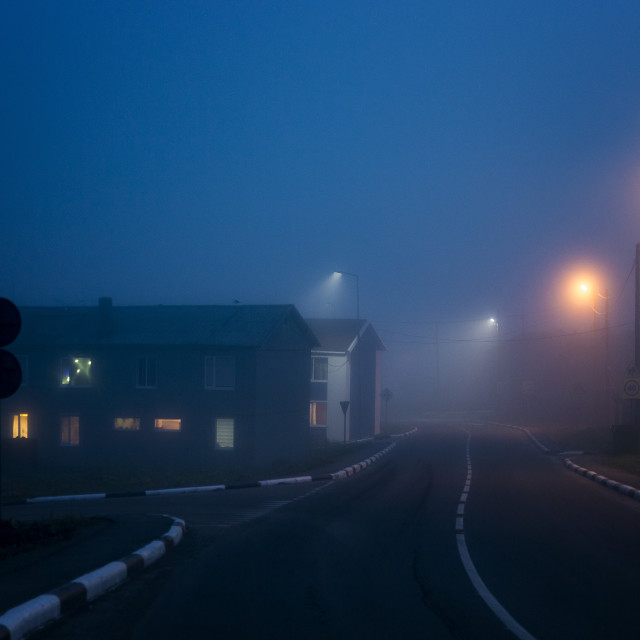 """""""Silent hill"""" stock image"""