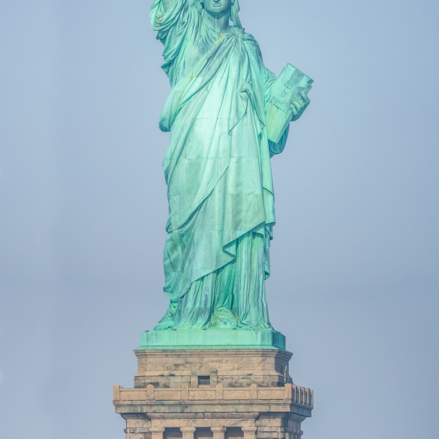 """The Statue Of Liberty"" stock image"