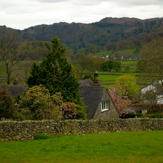 """The Lake District"" stock image"