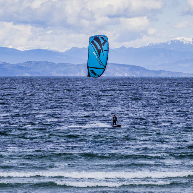 """Windsurfing"" stock image"