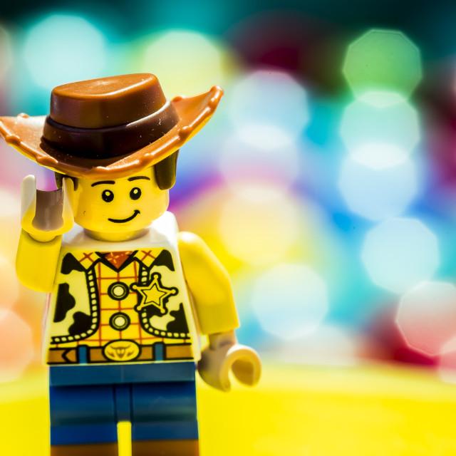 """Lego Woody"" stock image"