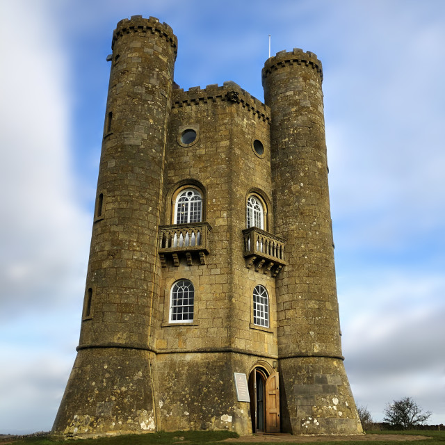 """Broadway Tower"" stock image"