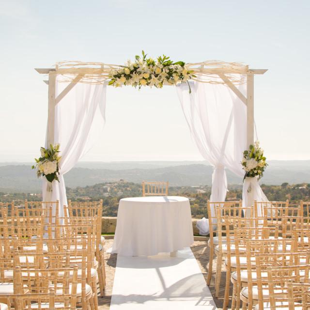 """Wedding venue goals"" stock image"