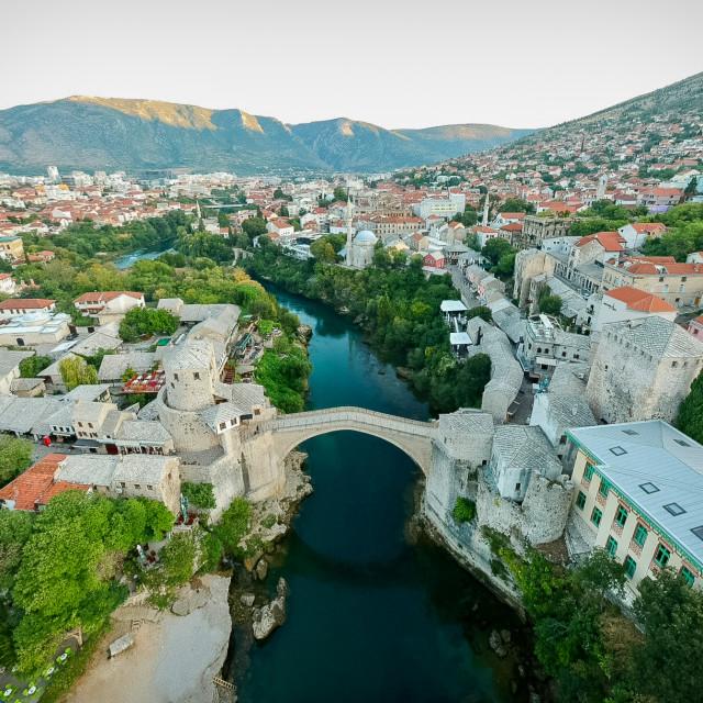 """Stari Most Bridge"" stock image"