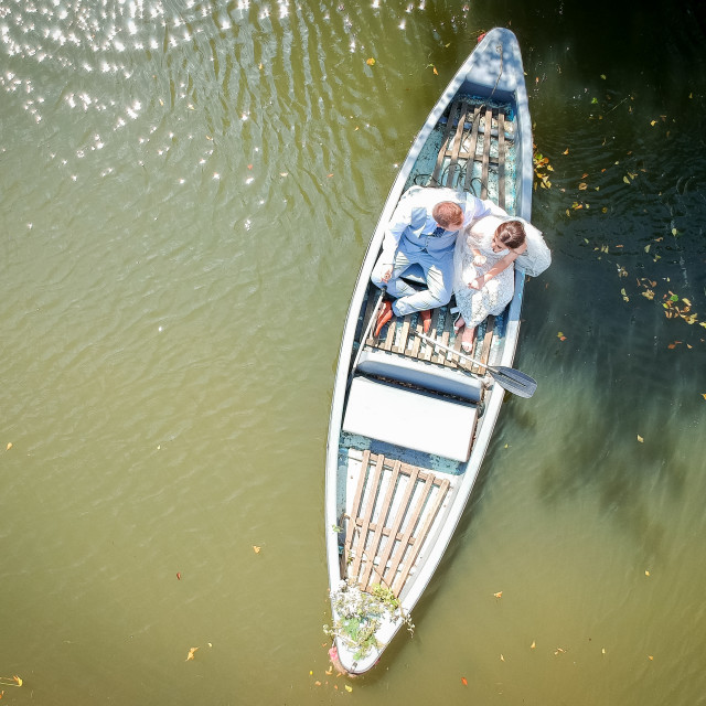 """""""Love boat"""" stock image"""