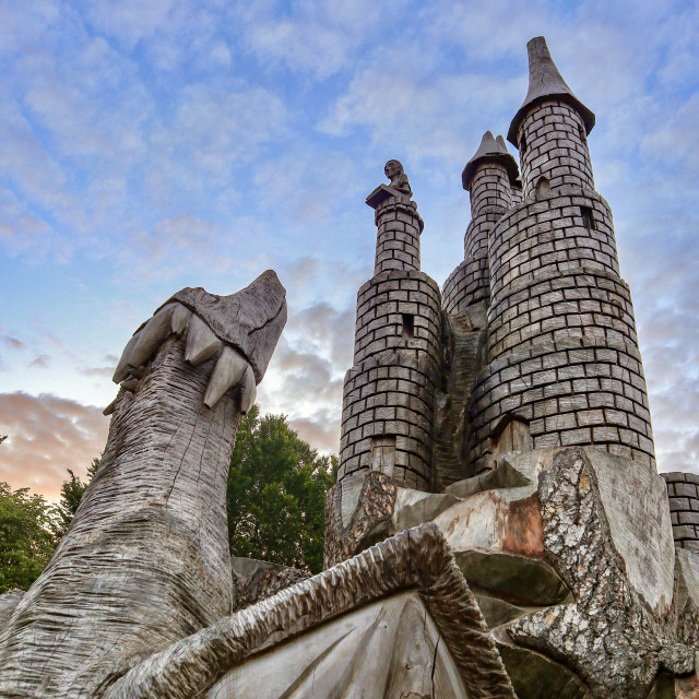 """Fairytale Castle"" stock image"