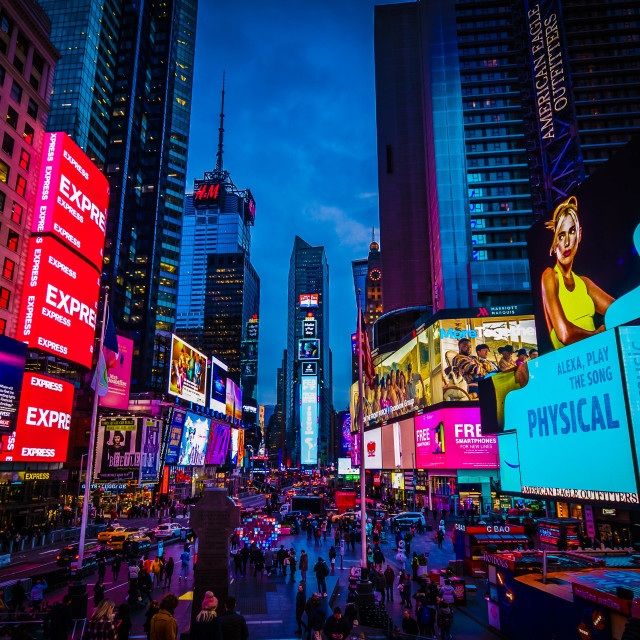 """Times Square, NYC"" stock image"