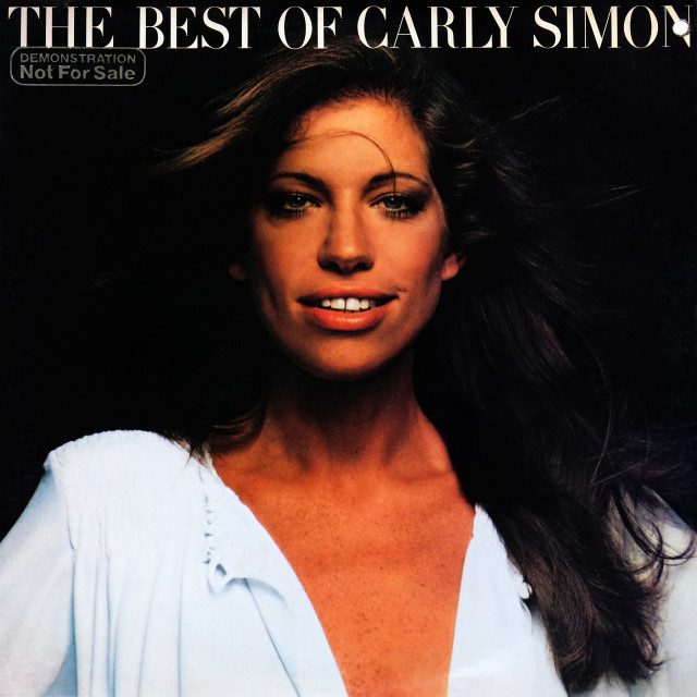 """""""CarlySimon: LP front cover 'The Best Of Carly Simon'"""" stock image"""