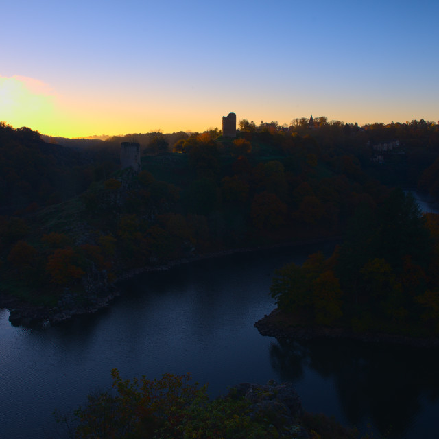 """Autumn Sunrise"" stock image"