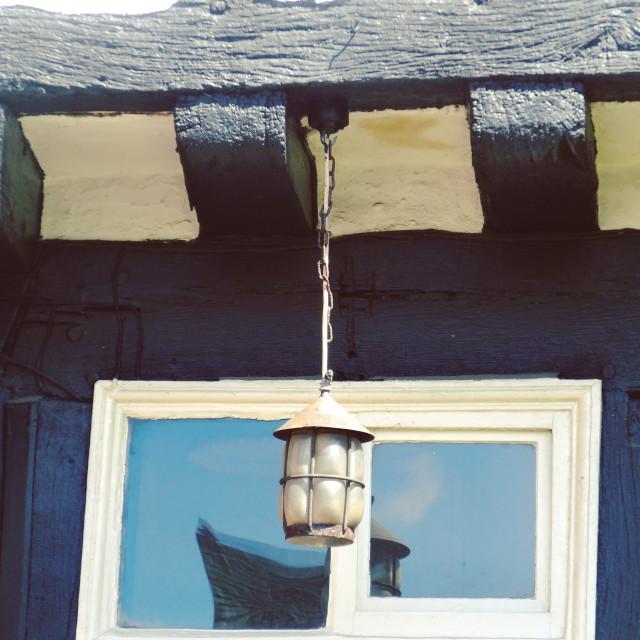 """Castle House Window"" stock image"