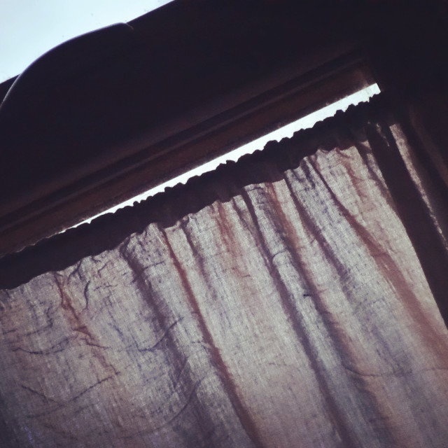 """Curtains"" stock image"