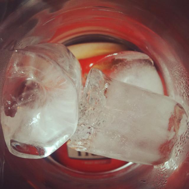 """Ice Cubes"" stock image"