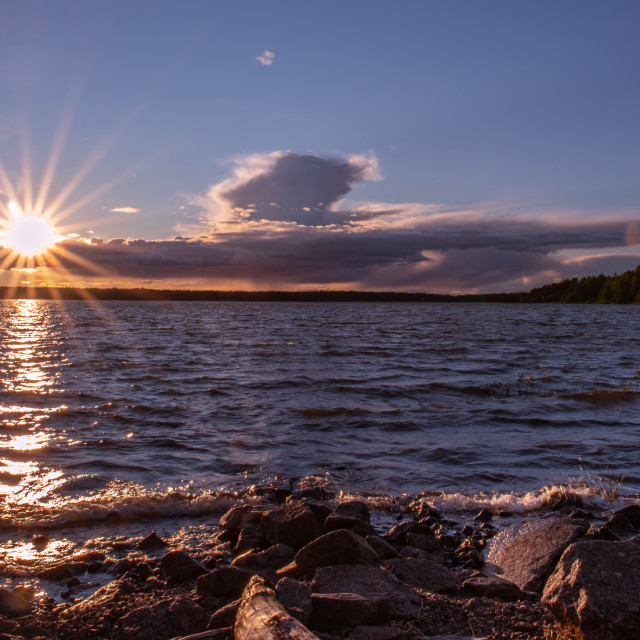 """""""Sunset Järsberg"""" stock image"""