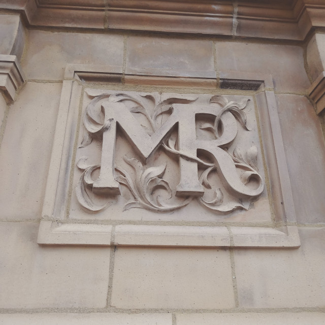 """Midland Railway Engraving, London Road"" stock image"