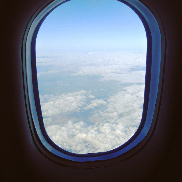 """Plane View"" stock image"