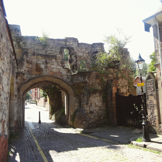 """Rupert's Gateway"" stock image"