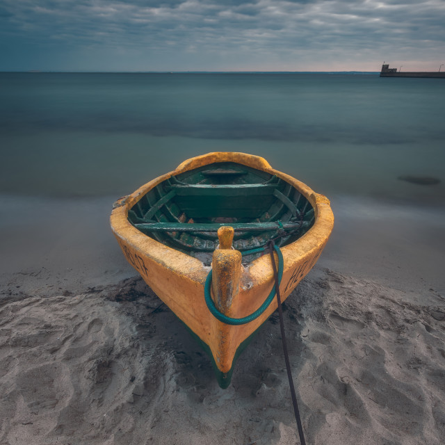 """Boat from Hel"" stock image"