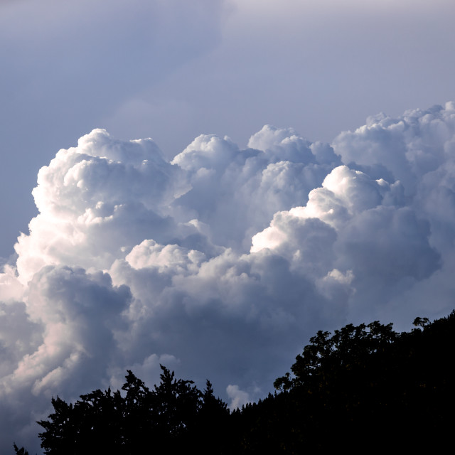 """cumulus storm clouds"" stock image"