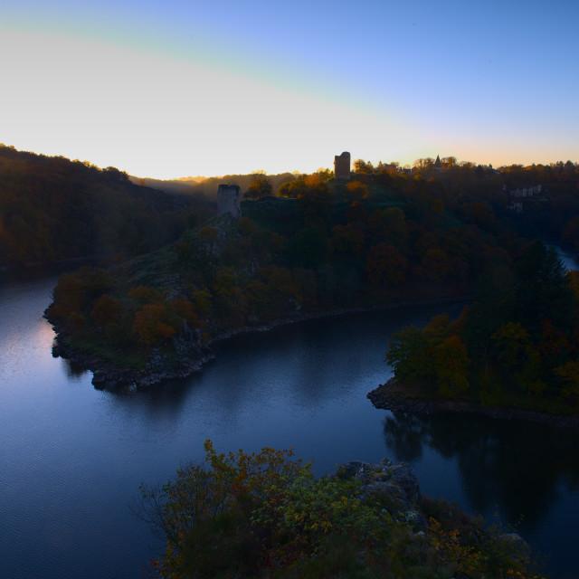 """Autumn Sunrise II"" stock image"