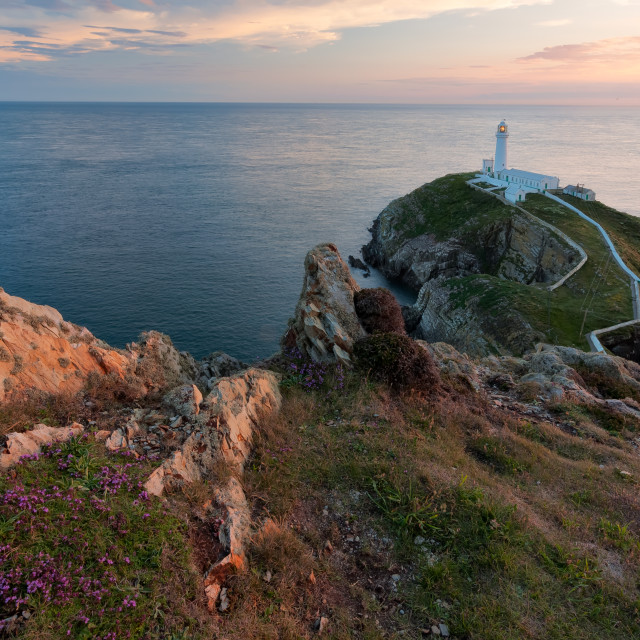 """South Stack"" stock image"