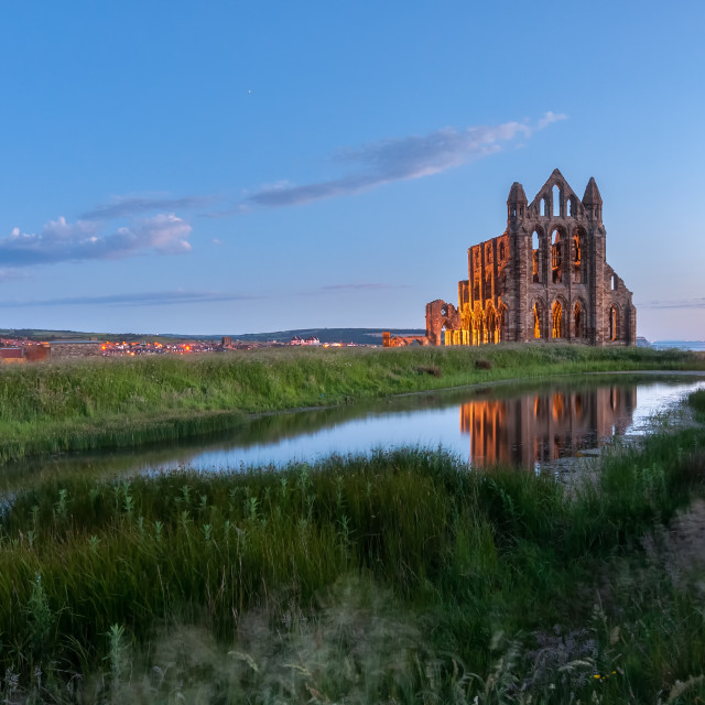 """Good morning Whitby!"" stock image"