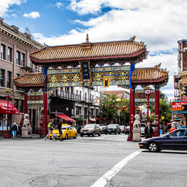 """Chinatown"" stock image"