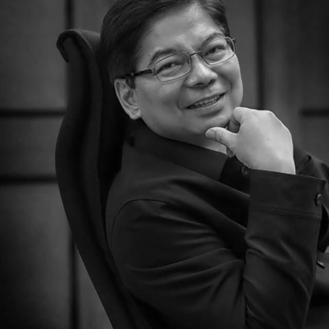 """Amando Tetangco, former Central Bank Governor, Philippines."" stock image"