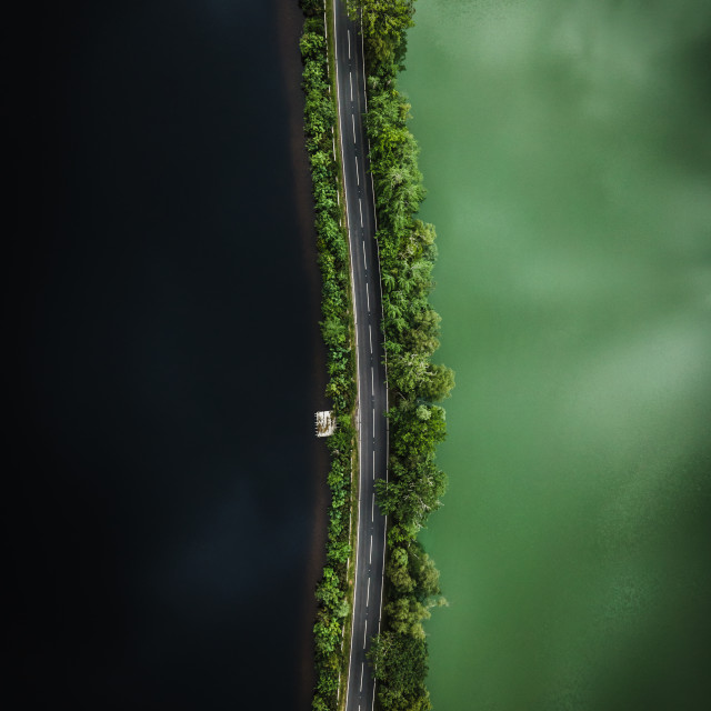 """Loch Dochfour"" stock image"