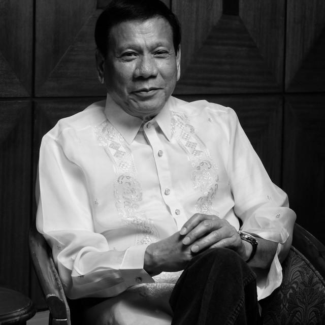 """""""President Duterte"""" stock image"""