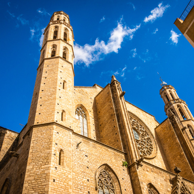 """""""Cathedral by the Sea"""" stock image"""