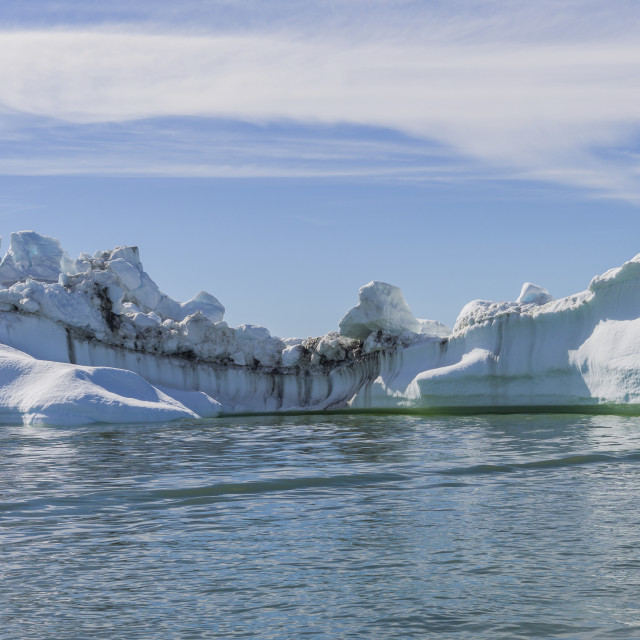 """The iceberg, Ilulissat"" stock image"