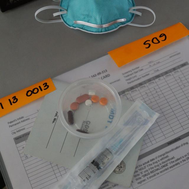 """Anti TB medicines"" stock image"