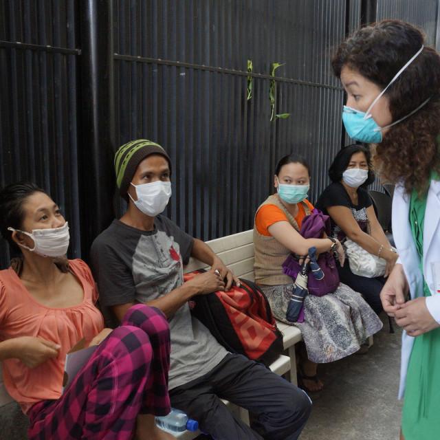 """TB Patients"" stock image"