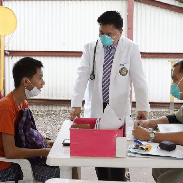 """TB Patient"" stock image"