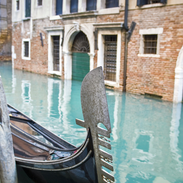 """""""A typical view in Venice, Italy"""" stock image"""