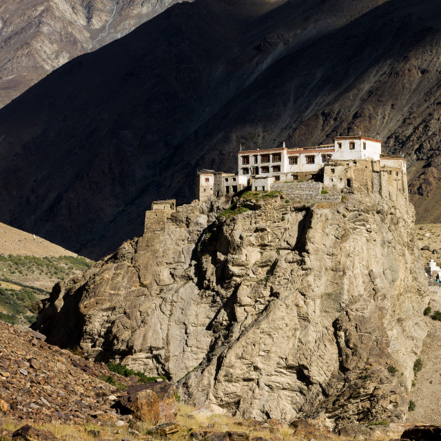 """Bardan Monastery of the Tibetan Buddhism"" stock image"