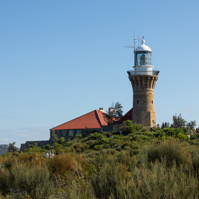 """Barrenjoey Lighthouse, Palm Beach, Australia"" stock image"