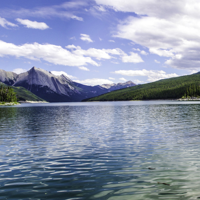 """Medicine Lake"" stock image"