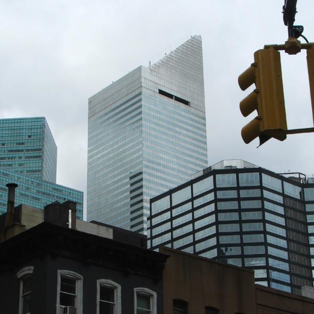 """Manhattan Skyline"" stock image"