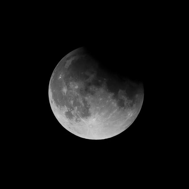"""shadow moon"" stock image"