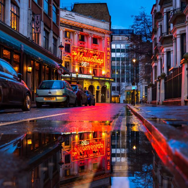 """Theatreland - London, UK"" stock image"