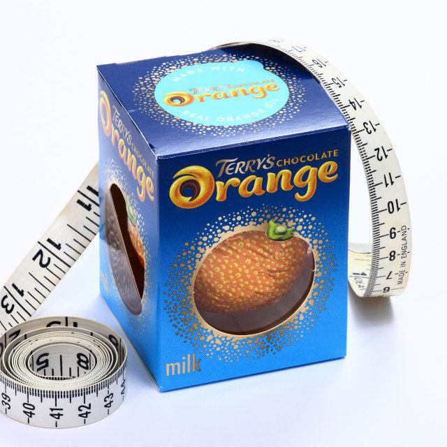 """Terrys chocolate orange"" stock image"