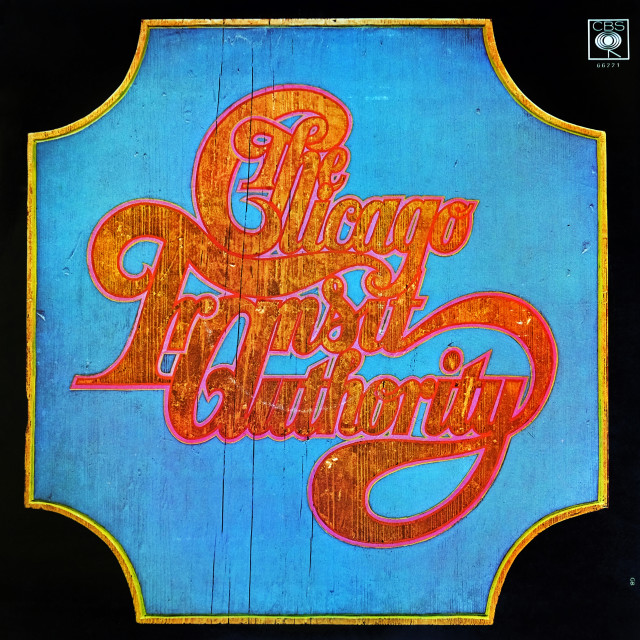 """""""Chicago: double LP front cover 'Chicago Transit Authority'"""" stock image"""