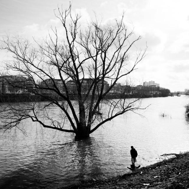 """The flood"" stock image"