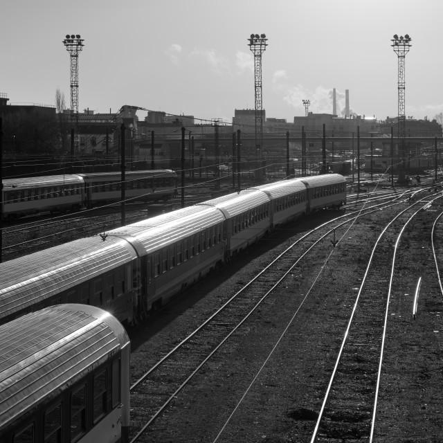 """the train"" stock image"
