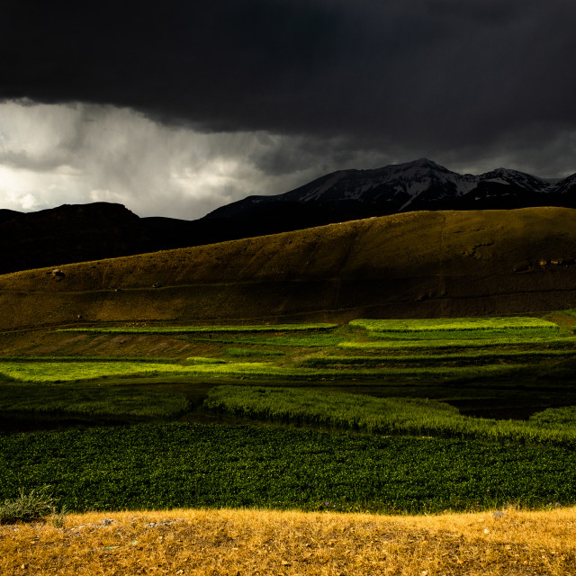 """""""A Stormy Afternoon"""" stock image"""